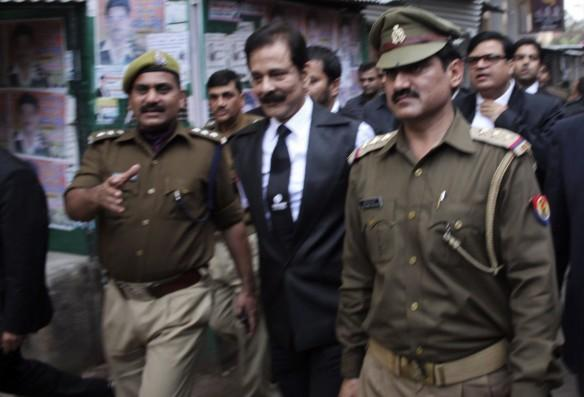 Subrata Roy arrested