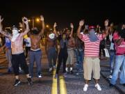 Protests in Ferguson over Killing of Black teen