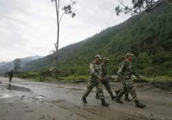 Indian Soldiers at Chinese Border