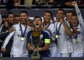 Real Madrid UEFA Super Cup Casillas Ramos Ronaldo Pepe