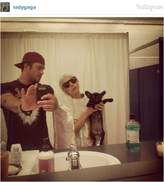 Lady Gaga and Taylor Kinney