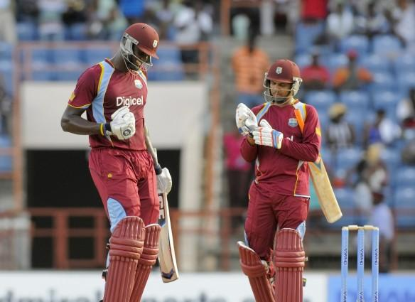 Jason Holder and Sunil Narine