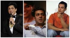 Shah Rukh Khan, Salman Khan, Aamir Khan in Ranbir Kapoor's film