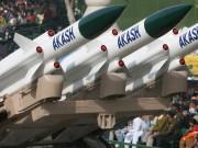 Akash Missile at Northern Border