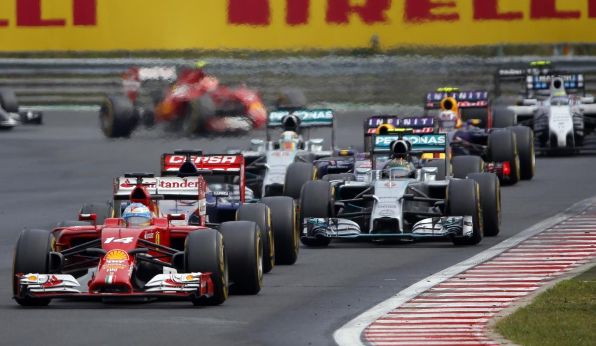 Formula 1 Live Streaming Information: Watch Belgium GP Practice ...