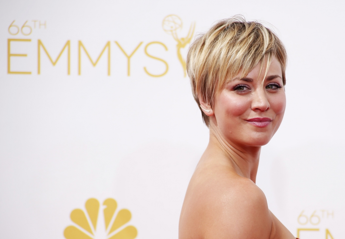 kaley cuoco to get rid of long hair in the big bang