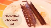 decorative-chocolate-roll