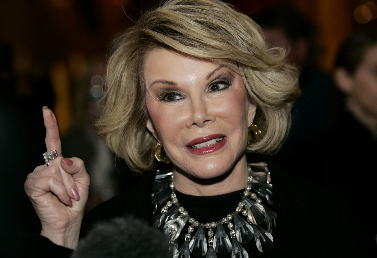 Fashion Police Joan Rivers Best Joan Rivers Dead at