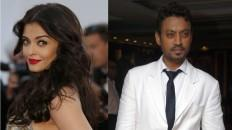 Aishwarya Rai Bachchan and Irrfan Khan