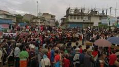 Protest In Ukhrul, Manipur