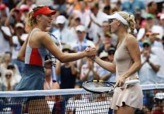 Maria Sharapova Caroline Wozniacki US Open