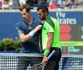 Andy Murray and Jo-Wilfried Tsonga
