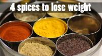 4-spices-to-lose-weight