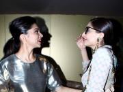 Deepika Padukone, Sonam Kapoor Patch-Up at 'Finding Fanny' Special Screening