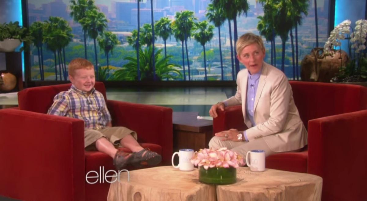 Youtube Ellen Meets The Apparently Kid