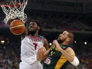 Kenneth Faried USA Jonas Valanciunas Lithuania