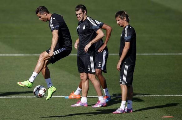 Real Madrid Cristiano Ronaldo Gareth Bale Fabio Coentrao
