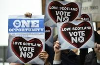 """Almost half the people who intend to vote No on Scottish independence have said they felt """"personally threatened""""."""