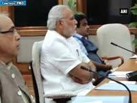 pm-modi-meets-senior-ministers-to-discuss-clean-india-mission