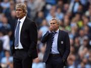 Maunel Pellegrini and Jose Mourinho