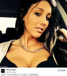 Canadian woman with 114 charges, Stéphanie Boudoin, has been dubbed as 'world's sexiest criminal'.