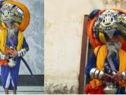 Avtar Singh Mauni's Turban is the same length as the same length as 13 Olympic-sized swimming pools