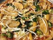 Chinese takeout pizza sold at Mega ILL