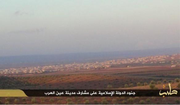 ISIS have posted a picture claiming that it is hardly 2 KM away from Kobane