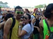 Minissha Lamba with boyfriend Ryan Tham in Tomorrow Land Festival, Belgium.