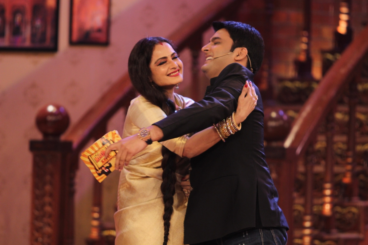 Tanya Y141: Rekha On Comedy Nights With Kapil 11th October 2014 Full