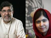 Malala Yousafzai and Kailash Satyarthi