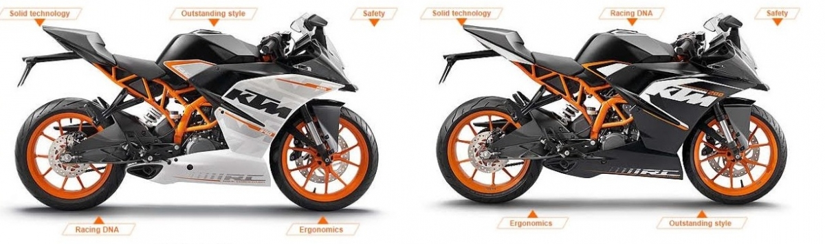 ktm rc 390, rc 200 command waiting period up to 2 months