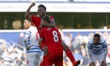 Raheem Sterling Steven Gerrard Liverpool QPR