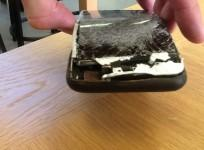 iPhone 6 caught fire
