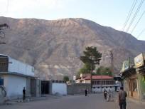 Gilgit-Baltistan area of PoK
