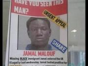 The fake poster claiming that an illegal migrant infected with Ebola is on the run,even found its way in a city medical unit in Leicester.