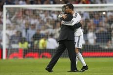 Carlo Ancelotti Cristiano Ronaldo Real Madrid