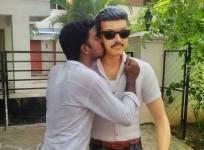 'Kaththi' Star Vijay's Statue Unveiled
