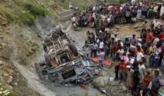 Bus Accident Guwahati