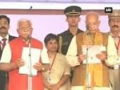 manohar-lal-khattar-takes-oath-as-haryana-cm