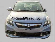 Maruti Swift Dzire Facelift Spied Inside Out, Launch Pushed to January 2015? Price, Feature Details [PHOTOS]
