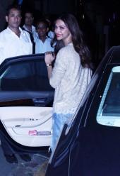 Deepika Padukone spotted at Nido, Bandra
