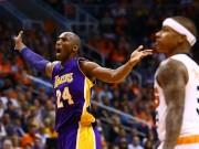 Kobe Bryant LA Lakers Phoenix Suns Isaiah Thomas