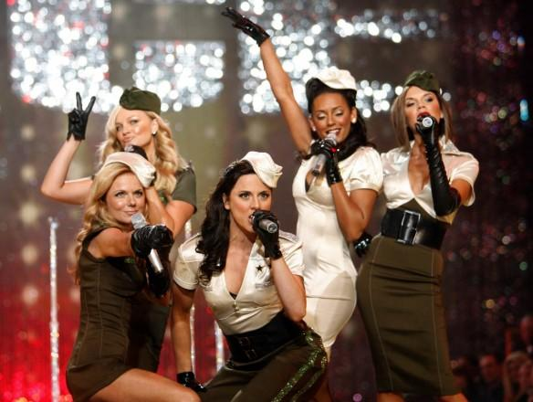 Spice Girls perform
