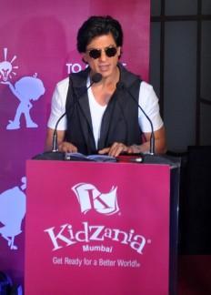 Shah Rukh Khan celebrates Children's Day at KidZania in Mumbai