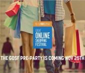 GOSF online shopping carnival, 10-12th December, 2014