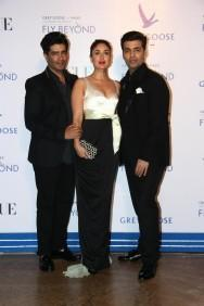 Hrithik Roshan, Kareena Kapoor Khan, Farhan Akhtar and Other Celebs look Stunning at Grey Goose India's Fly Beyond Awards 2014