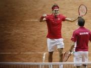Roger Federer Stanislas Wawrinka Switzerland Davis Cup Final