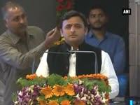 mulayam-akhilesh-at-lucknow-agra-expressway-foundation-stone-laying-ceremony
