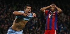 Sergio Aguero Manchester City Jerome Boateng Bayern Munich